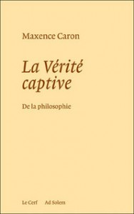 La Verite captive_couverture