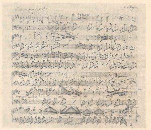 Chopin manuscrit nocturne posthume