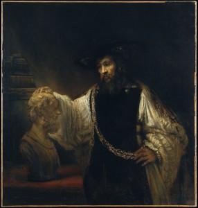 Rembrandt_Aristotle_with_a_Bust_of_Homer_-_Google_Art_Project