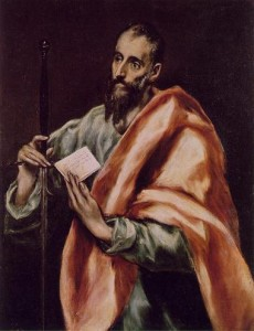El Greco, saint Paul