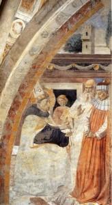 "Gozzoli, ""Saint Augustin rend la justice"""