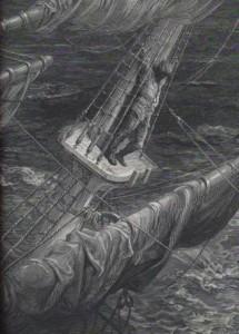 """Gustave Doré, illustration du """"Vieux marion"""" de Coleridge"""