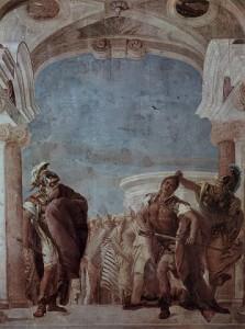 Tiepolo, La colère d'Achille