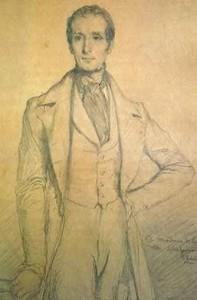 Lamartine, par Theodore Chasseriau