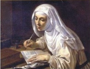Catherine de Sienne, par Rutilio Manetti