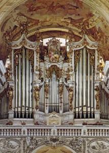 Orgues de Saint-Florian, sur lesquelles jouaient Bruckner