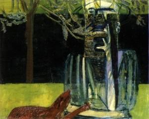 """Francis Bacon, """"Personnages dans un jardin"""""""