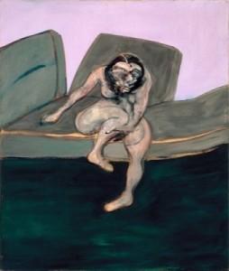"Francis Bacon, ""La femme assise"""