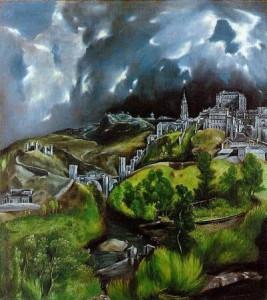 El Greco, Vue de Tolède la nuit