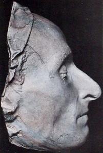 Masque mortuaire de Pascal