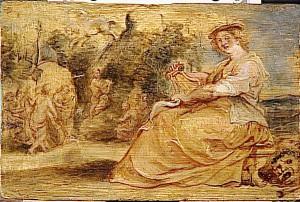 Rubens, 'Allégorie de la musique'