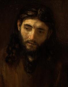 Rembrandt, Le visage du Christ