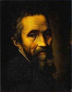 Michelangelo, Autoportrait