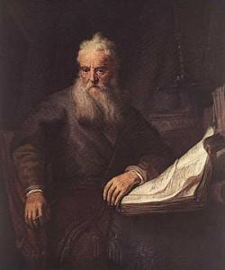 Rembrandt-saint-Paul