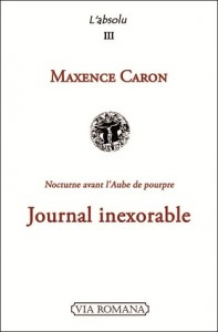 Journal inexorable_Maxence-Caron