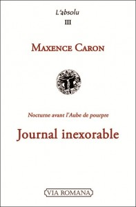Journal_Maxence Caron_Couverture