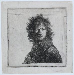 Rembrandt, Autoportrait, 1630