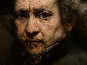 Rembrandt, Autoportrait