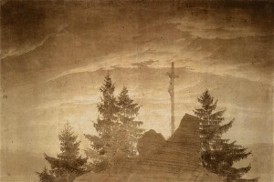C. D. Friedrich, Croix dans les montagnes