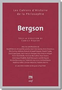 Cahier Bergson, dirigé par Camille Riquier