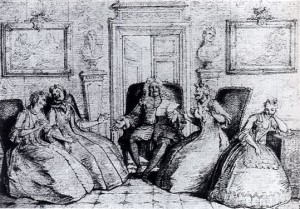 Les Femmes savantes, Charles Coypel