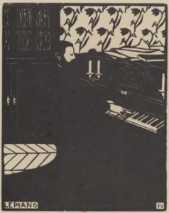 """Vallotton, """"Le Piano"""""""