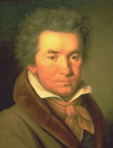 Beethoven par WJ Mähler, 1815