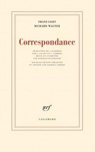 Couverture Correspondance Wagner-Liszt