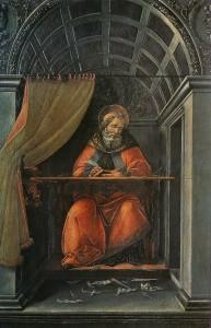 Saint Augustin au travail_Botticelli