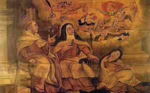 Anonyme (Portugal), Sainte Thérèse, Vision de la très-sainte Trinité
