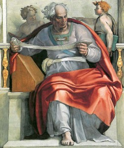 Prophète Joel (Michelangelo)
