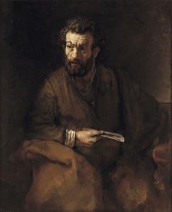 St Barthélemy par Rembrandt (1657)