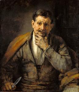 St Barthélemy par Rembrandt