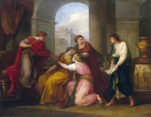 Angelica Kauffmann, Virgile lisant l'Enéide à Auguste et Octavie