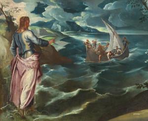 Tintoret, le Christ sur les eaux de Galilée.jpg